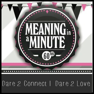 meaning in a minute